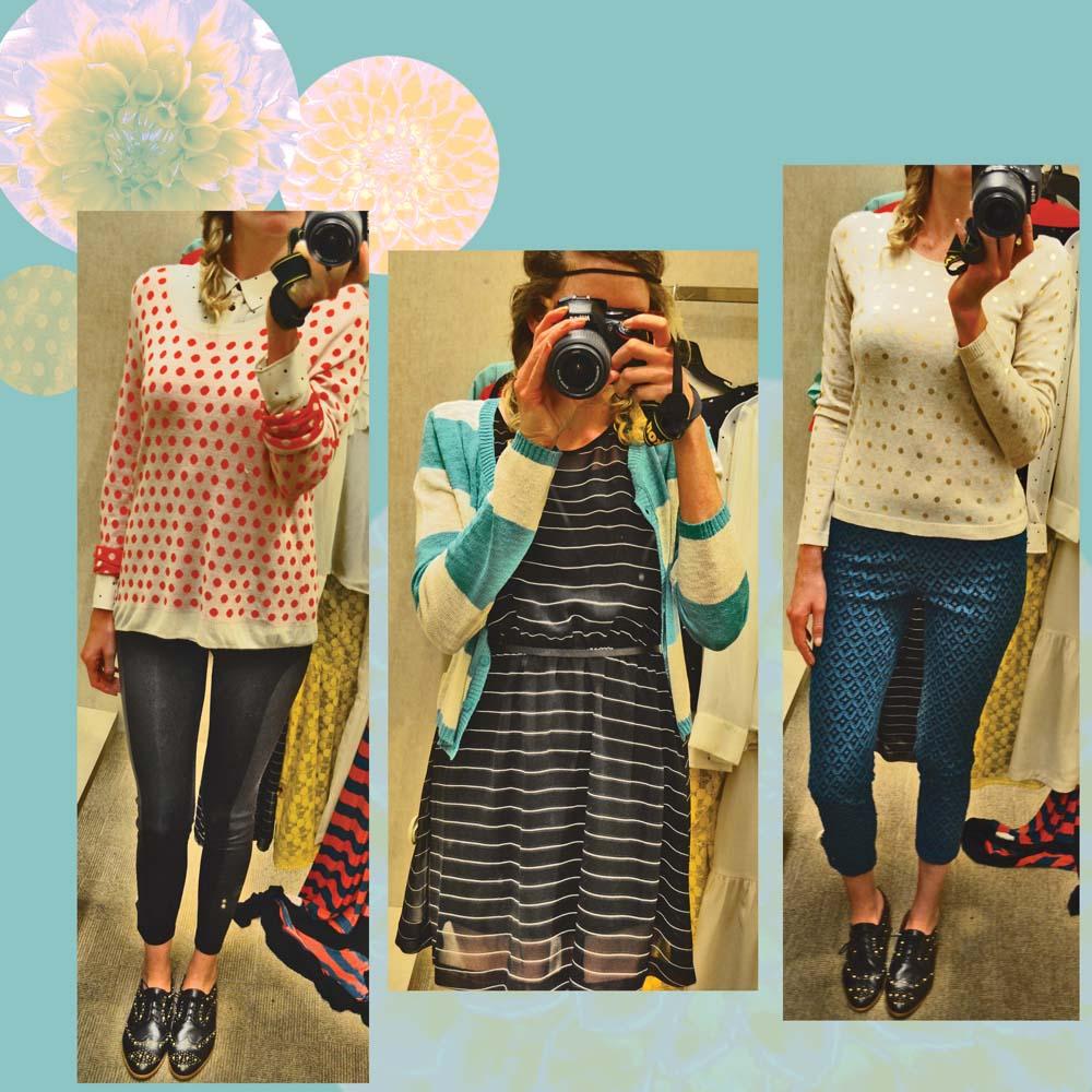 kensie stripes and polka dots