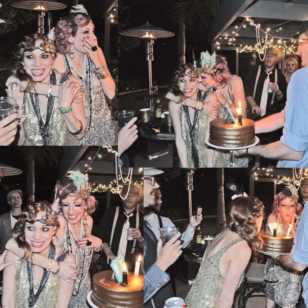 birthday flapper girls
