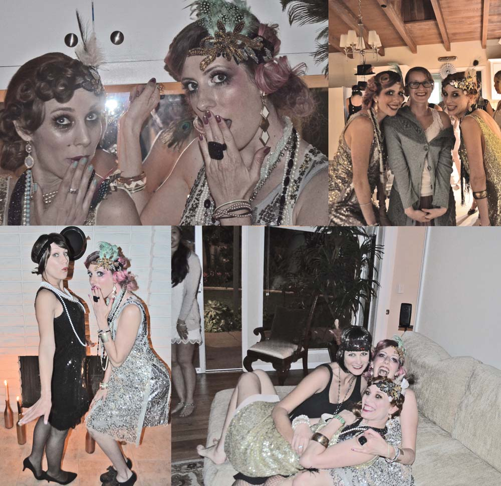 birthday flappers