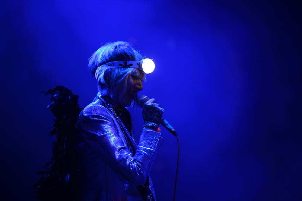 karen o at coachella