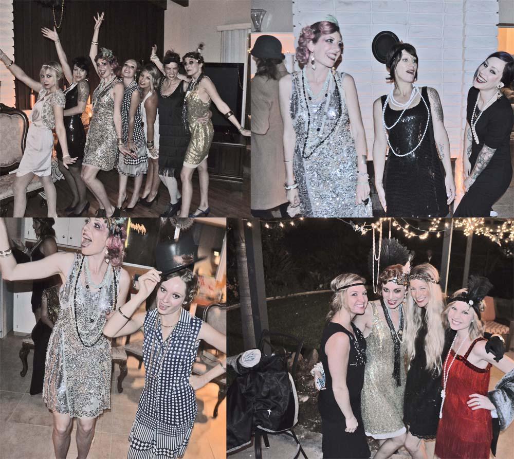 modern flapper girls