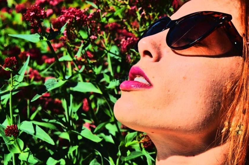 magenta lips