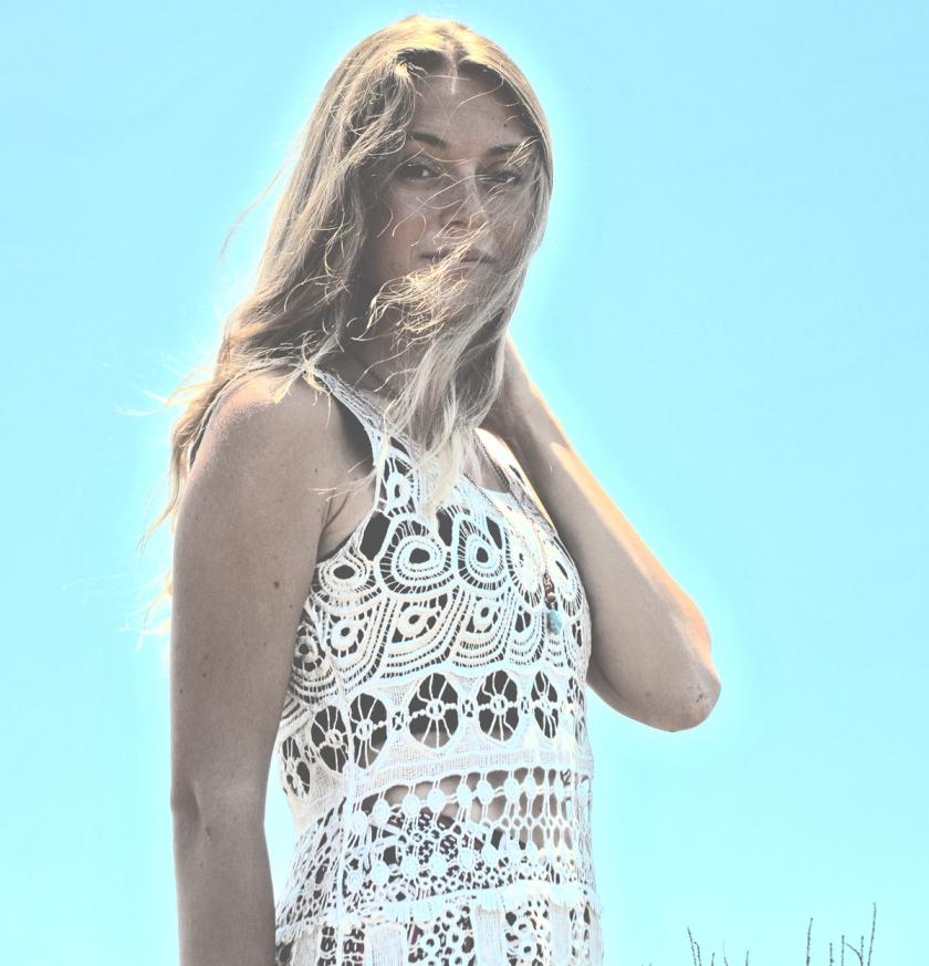 summer boheme portrait