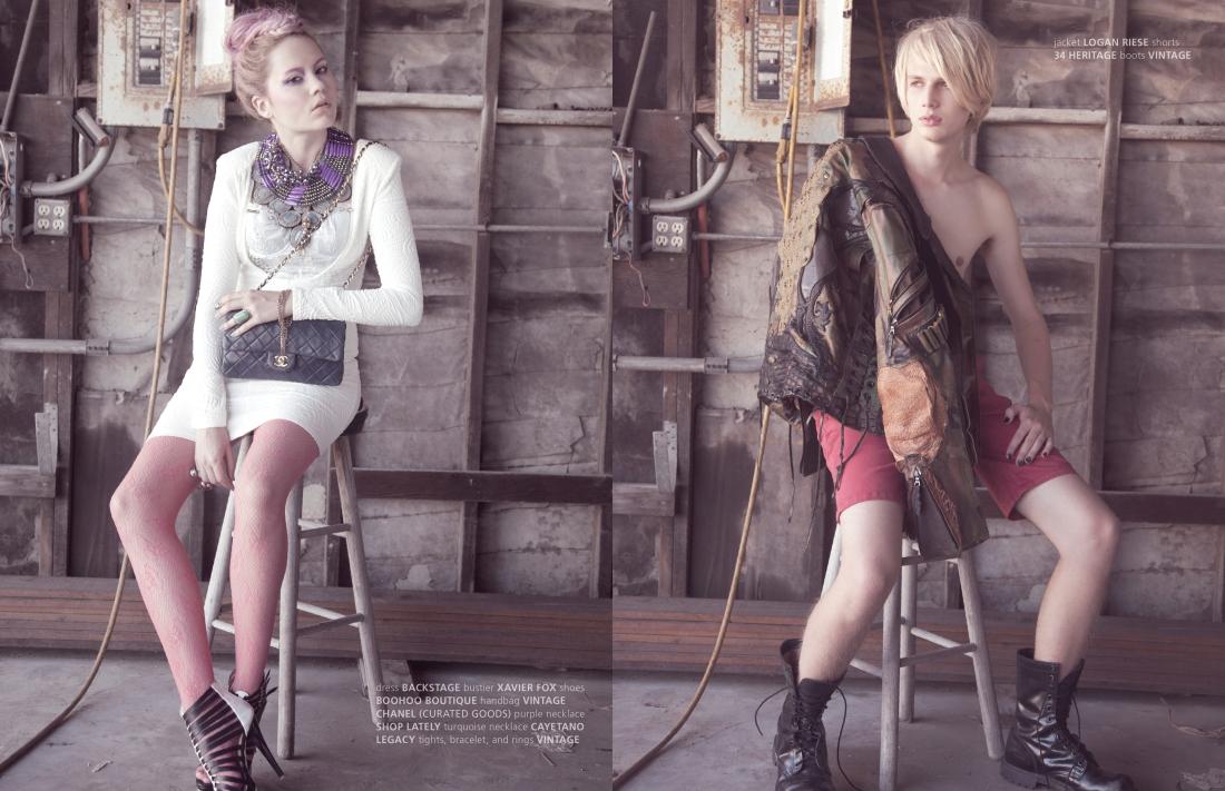 punk fashion editorial stardust issue