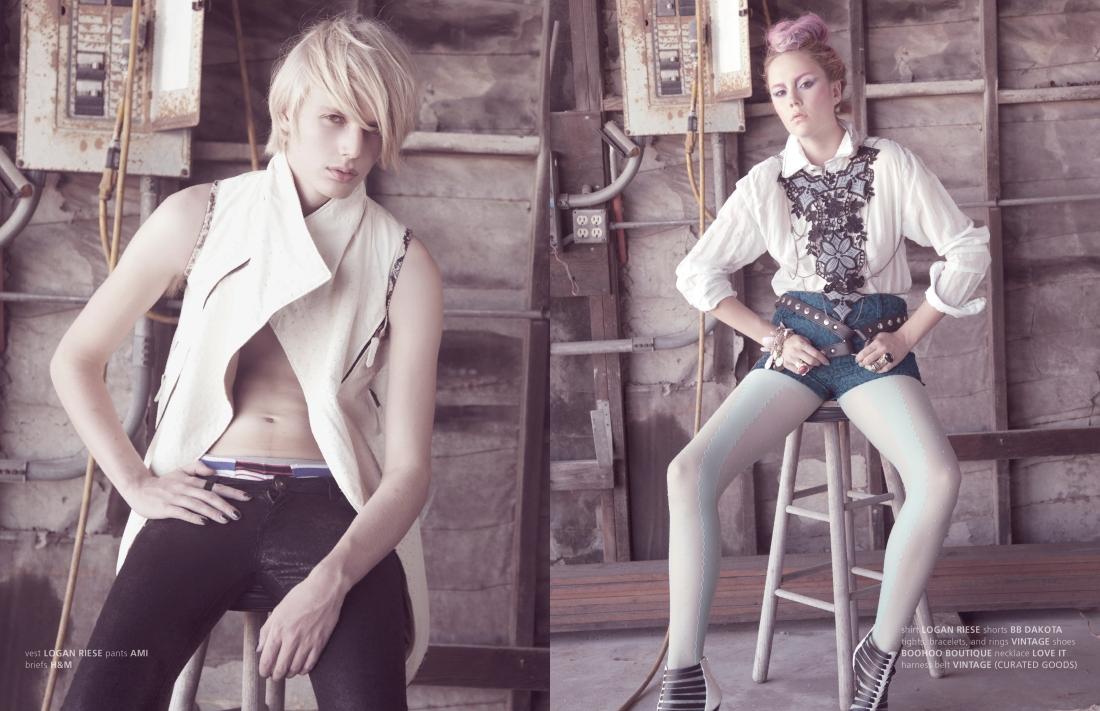 punk fashion magazine editorial stardust issue