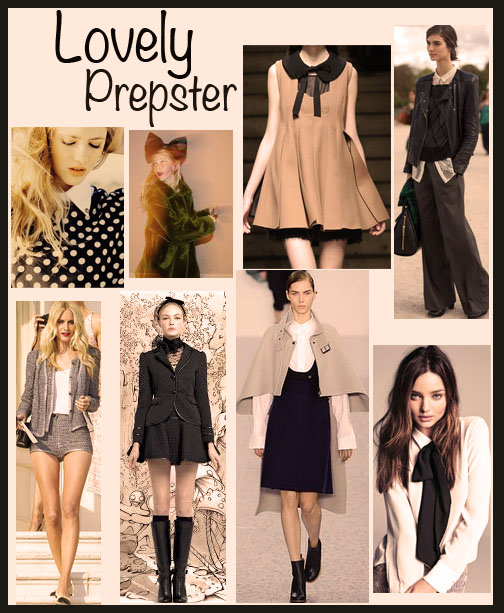 Prepster looks for fall