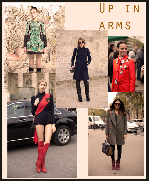 Militant outfits for fall