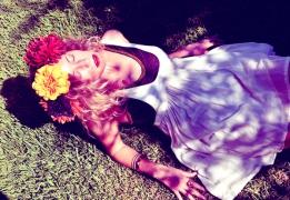 floral crown pic