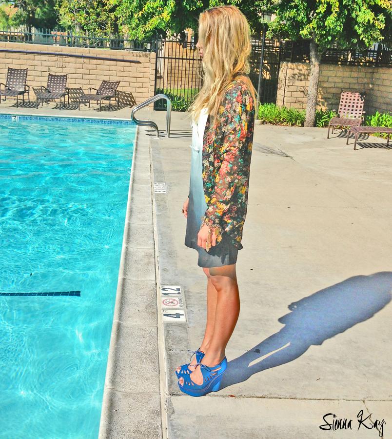 wardrobe stylist summer shoot